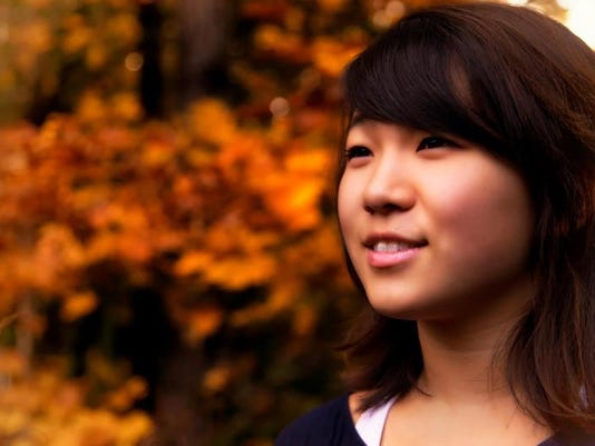 Hannah Kang, The Delphian School Academic All-Star 2013.