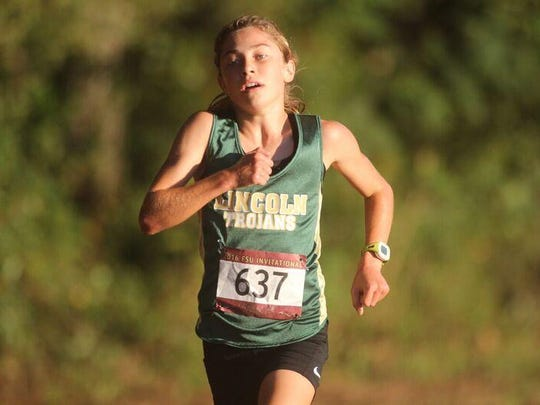 Lincoln freshman Alyson Churchill won the FSU Invitational and four other races this year heading into Saturday's FHSAA State Cross Country Championship at Apalachee Regional Park.