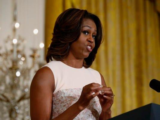 Michelle Obama Healthier Schools