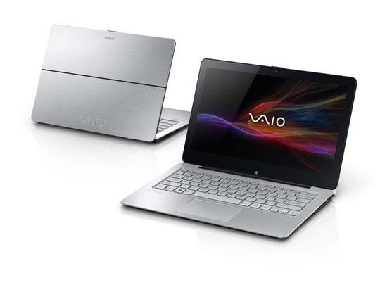 Sony's Vaio Flip PC laptops' lithium-ion batteries can overheat, posing fire and burn hazards.