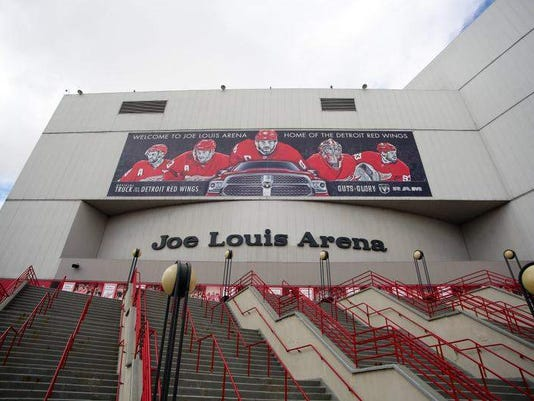 Joe Louis Arena Would Be Empty After Wings Leave Until Demolition