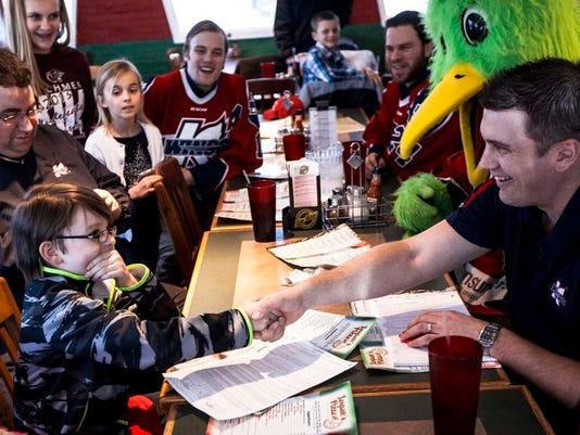 Hockey Contract Boy