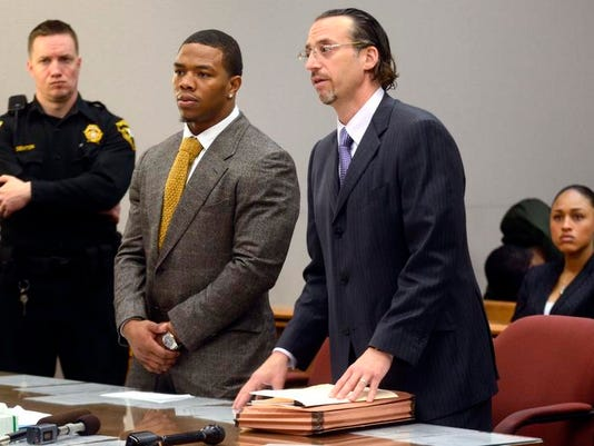 Ray Rice Arrest Football