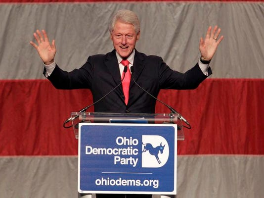Bill Clinton Ohio