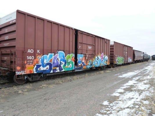 Exchange Railroad Graffiti
