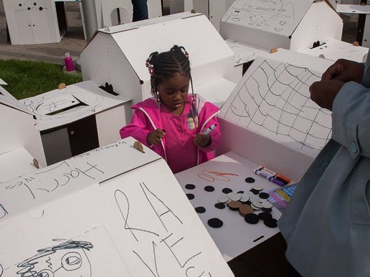 Kids can get involved in Detroit Design Festival in a wide variety of hands-on activities at the Youth Innovation Center at Henry Ford Academy 10 a.m.- 4 p.m. Saturday.