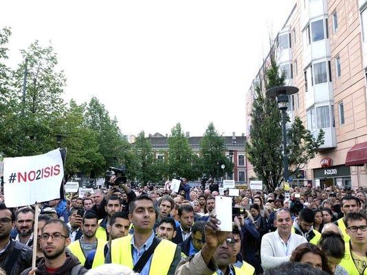 Norway Demonstration