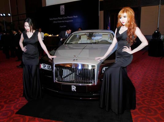 Cambodia Rolls Royce