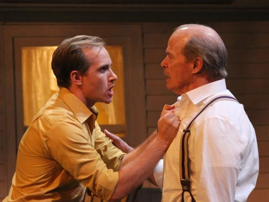 -All My Sons Zac Hoogendyk and William Parry in Gulfshore Playhouse's produc.jpg