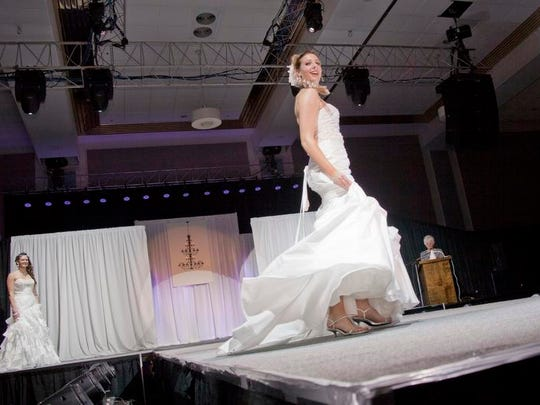 Sunday's Bridal Extravaganza will include information, resources and fun for brides and grooms.