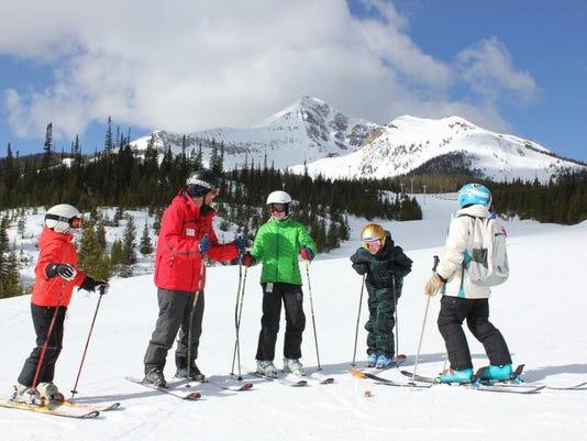 ski school horizontal