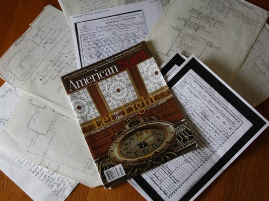 American Spirit, the DAR publication, and research notes..JPG