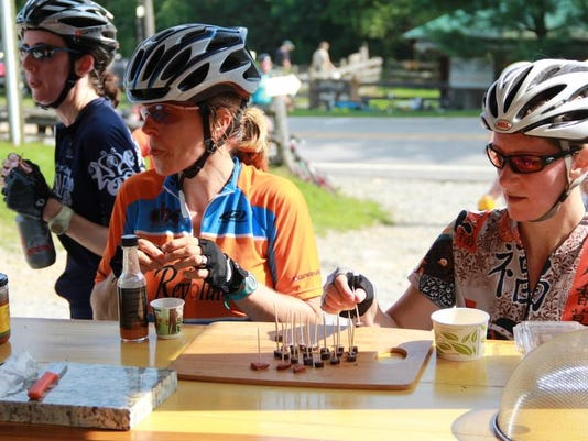 Cyclists with Samples by Larry Pierson.jpg