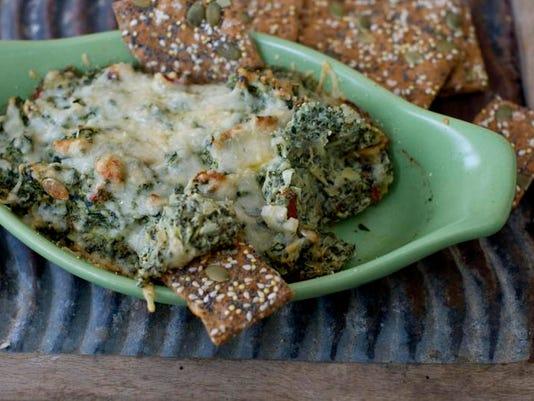 Food Healthy Artichoke Spinach Dip