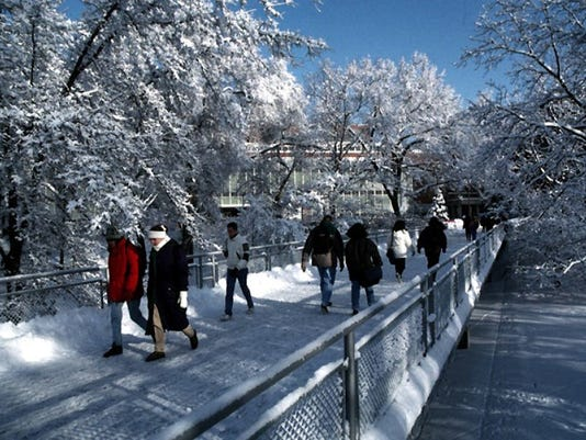 Michigan State Campus >> Seeking Sure Footing For A Winter Run Try Msu S Campus