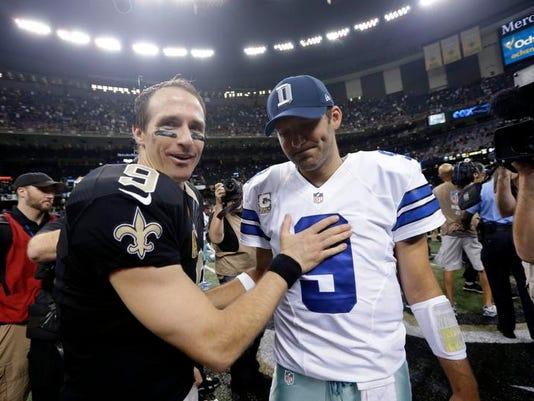 Cowboys Saints Football