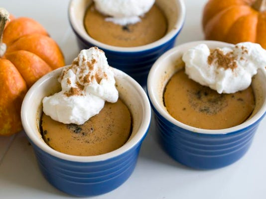 Food Healthy Pumpkin Custard