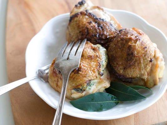1211 Stuffed Chicken Thighs