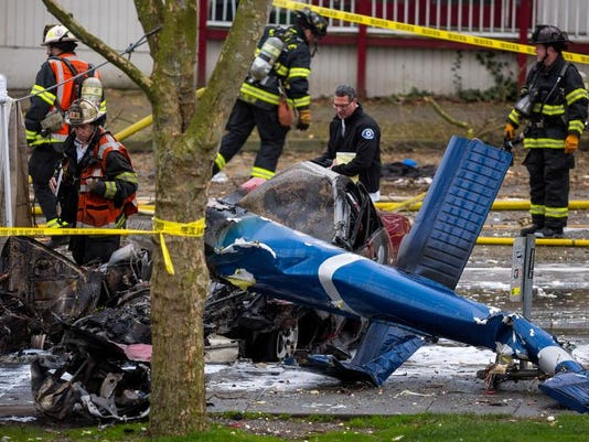 APTOPIX News Chopper Crash