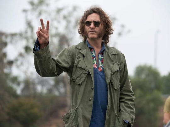 """Joaquin Phoenix is a constantly stoned private detective in """"Inherent Vice."""""""