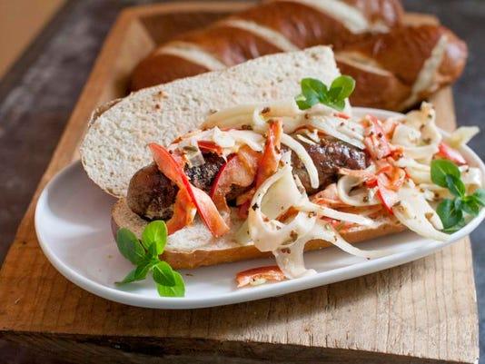 Food Fennel Sausage Sandwiches