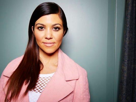 Kourtney Kardashian Portrait