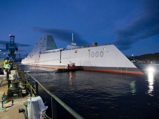 Zumwalt Warship Namesake (2)