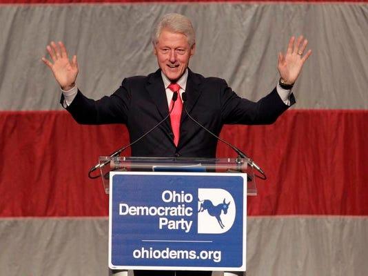 Bill Clinton Ohio