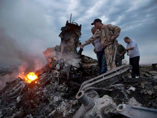 APTOPIX Ukraine Plane