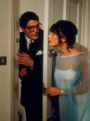 "Christopher Reeve and Margot Kidder in 1978's ""Superman."""
