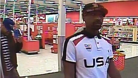 On Wednesday, Feb. 3, 2016 a Prattville, Alabama resident had their identity compromised and their debit/credit card information fraudulently obtained and used at a retail store in Montgomery.  Prattville Investigators are searching for three males last seen driving a 2014 white Ford Focus. If you can identify or know the current whereabouts of these subjects, please call the Police immediately or Crime Stoppers at 215-STOP. Your Tip may lead to a Cash Reward!