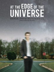 The cover of Shaun David Hutchinson's 'At the Edge