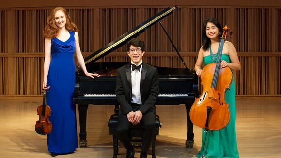 The Merz Trio are among the featured performers Aug. 11 and 12 at the Olympic Music Festival at Fort Worden State Park.