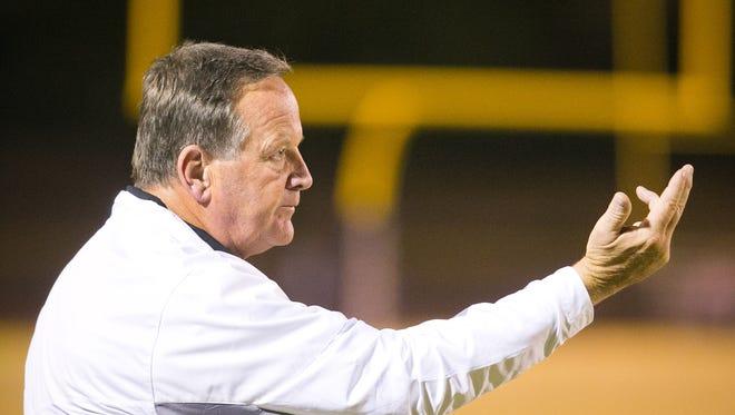 North head coach Bernie Busken.
