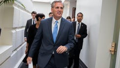 House Majority Leader Kevin McCarthy of Calif., shown