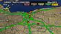 Multiple accidents and spots of slow traffic reported