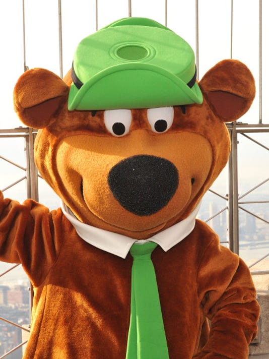Yogi Bear And Boo Boo Visit The Empire State Building