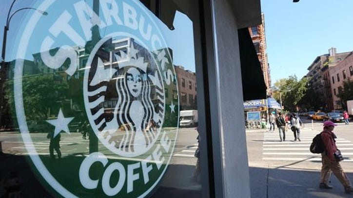What happens when a white man goes into a Starbucks and doesn't buy anything