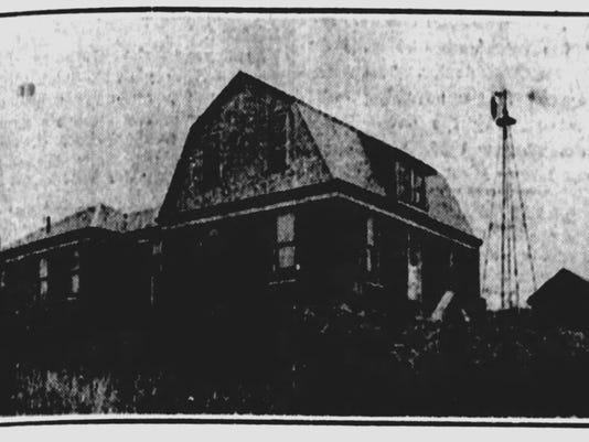 Pest House circa 1920.