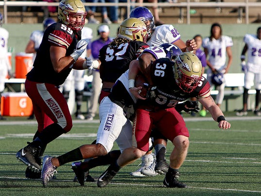 Tarleton State at Midwestern State football