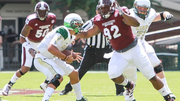 Former Mississippi State defensive tackle looks to turn heads at the next level.