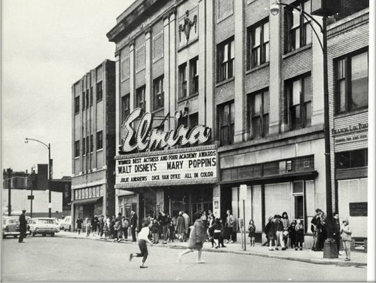 The venue's time as the Elmira Theater featured mainly