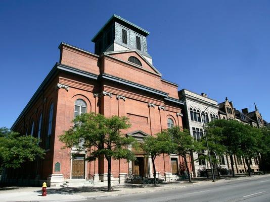 Saints Peter and Paul Jesuit Church Detroit