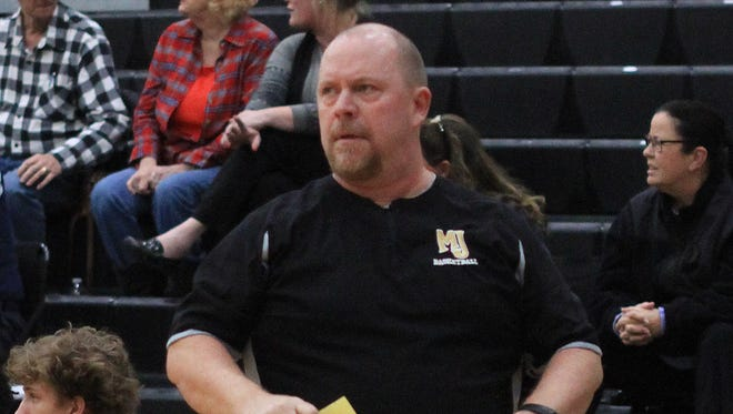 Mt. Juliet boys basketball coach Troy Allen recently returned to the Golden Bears' sideline after undergoing surgery to repair a herniated disc.