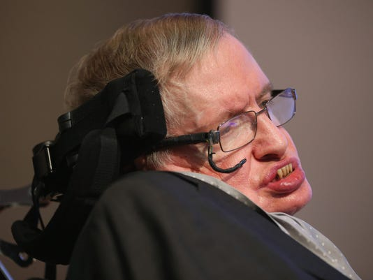 Professor Stephen Hawking Unveils Medal For Science Communication