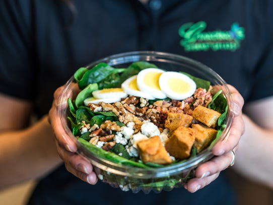 Giardino Gourmet Salads has at least 20 varieties of