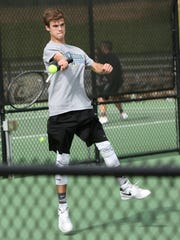 Grant Hilliard is one of a pair of tennis players at
