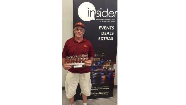 Rick Glessner, Iowa State Cyclone Season Ticket Winner