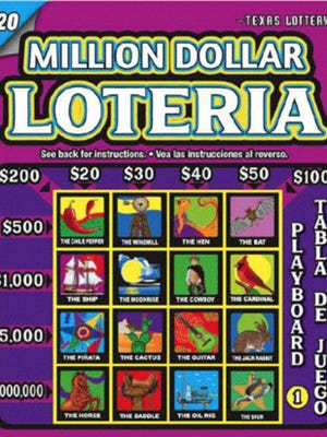 A Round Rock resident is now a brand-new millionaire in the Texas Lottery scratch ticket game, Million Dollar Loteria.