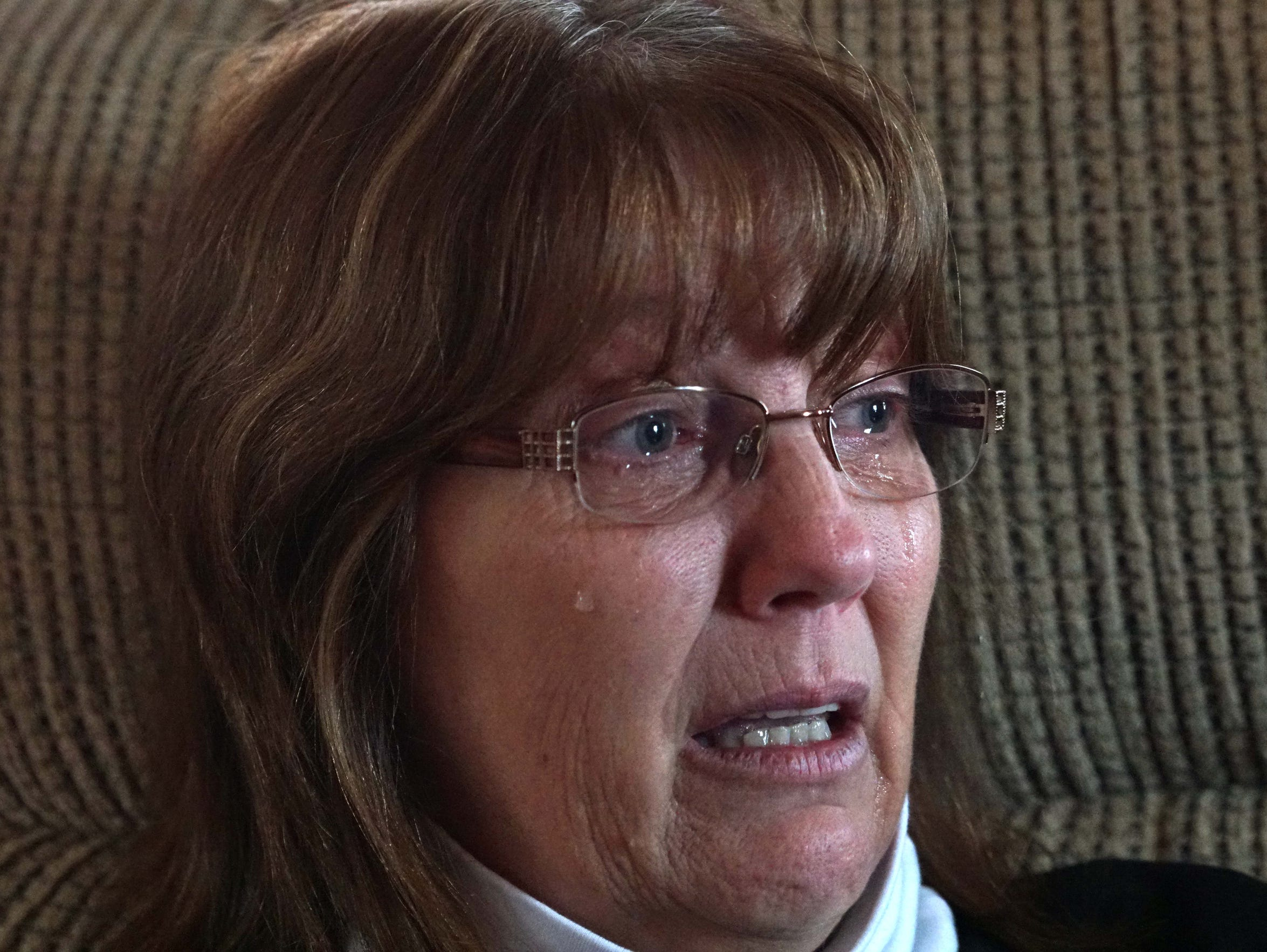 Tammy Jones, the mother of 25 year-old Brandon Jones,